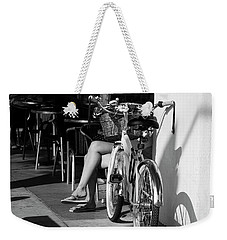 Leg Power - B And W Weekender Tote Bag