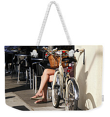 Leg Power - On Montana Avenue Weekender Tote Bag