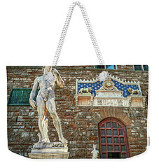 Weekender Tote Bag featuring the photograph Legal Nudity by Hanny Heim