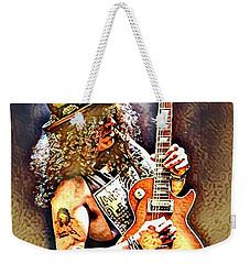 Legends Of Rock - Slash - Sweet Child Weekender Tote Bag