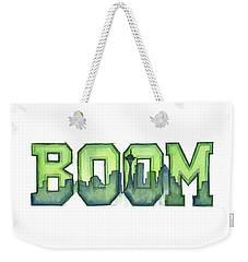 Legion Of Boom Weekender Tote Bag by Olga Shvartsur