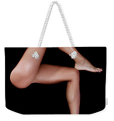 Weekender Tote Bag featuring the digital art Legs Are Meant For Dancing by Rafael Salazar