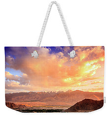Weekender Tote Bag featuring the photograph Leh, Ladakh by Alexey Stiop