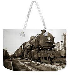 Lehigh Valley Steam Locomotive 431 At Wilkes Barre Pa. 1940s Weekender Tote Bag
