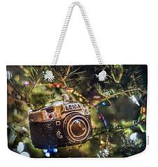 Leica Christmas Weekender Tote Bag