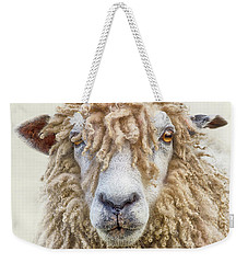 Leicester Longwool Sheep Weekender Tote Bag