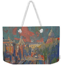 Leidse Plein Red Cloud Weekender Tote Bag