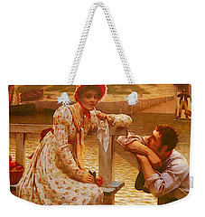 Leighton Edmund Blair Courtship Weekender Tote Bag