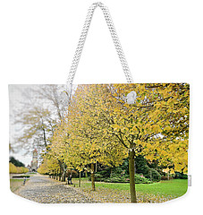 Weekender Tote Bag featuring the photograph Leipzig Memorial Park In Autumn by Ivy Ho