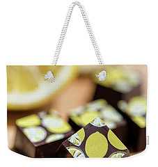 Lemon Chocolate Weekender Tote Bag