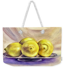 Lemon Drops Weekender Tote Bag