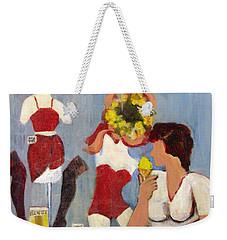 Lemon Eis Weekender Tote Bag