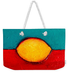 Weekender Tote Bag featuring the photograph Lemon by Fred Wilson