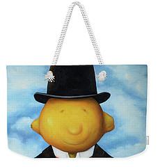 Lemon Head Pro Image Weekender Tote Bag