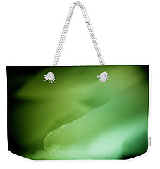 Weekender Tote Bag featuring the photograph Lemon Lime Swirl by Christi Kraft