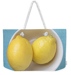 Lemon Pop Weekender Tote Bag by Edward Fielding