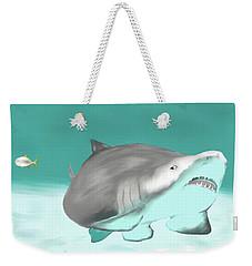 Lemon Shark Weekender Tote Bag