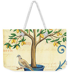Lemon Tree Of Life Weekender Tote Bag
