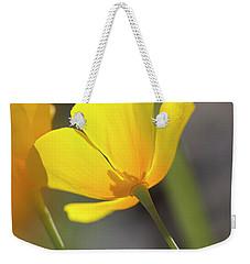 Lemon Yellow Weekender Tote Bag by Sue Cullumber