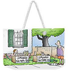 Lemonade Stand Weekender Tote Bag