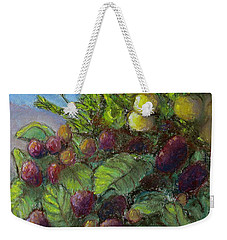 Lemons And Berries Weekender Tote Bag