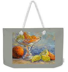 Lemons And Oranges Weekender Tote Bag