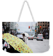 Weekender Tote Bag featuring the photograph Lemons And Rubber Boots  by Empty Wall