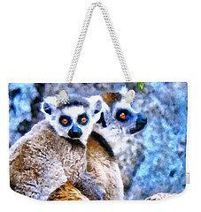 Lemurs Of Madagascar Weekender Tote Bag by Maciek Froncisz