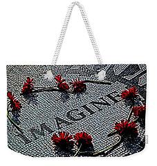Lennon Memorial Weekender Tote Bag