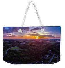 Lenoir North Carolina  Sunset Weekender Tote Bag