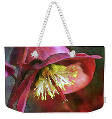 Lenten Rose Bowing To The Sun 8712 Idp_2 Weekender Tote Bag