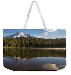 Lenticular Cloud At Reflection Lake Weekender Tote Bag