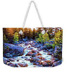 Leo Falls Weekender Tote Bag