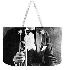 Leon Bix Beiderbecke Weekender Tote Bag