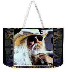 Leon Russell Rip Weekender Tote Bag