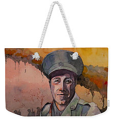 Leonard Keysor Vc Weekender Tote Bag by Ray Agius