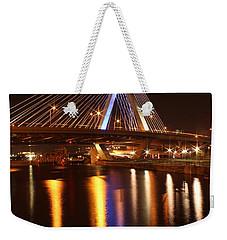 Leonard P. Zakim Bunker Hill Bridge Reflection 2 Weekender Tote Bag