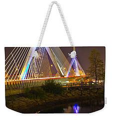 Leonard P. Zakim Bunker Hill Bridge Reflection Weekender Tote Bag