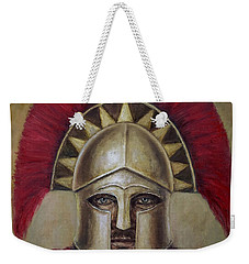 Leonidas I Weekender Tote Bag by Arturas Slapsys
