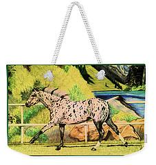 Leopard Appaloosa - Dream Horse Series Weekender Tote Bag