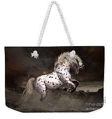 Leopard Appaloosa Shiloh Weekender Tote Bag by Shanina Conway