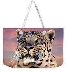 Leopard Portrait Number 3 Weekender Tote Bag