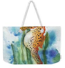 Leopard Seahorse Weekender Tote Bag