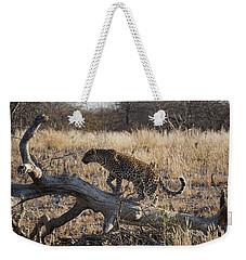 Leopard Tail Weekender Tote Bag