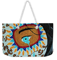 Leopard Tears Weekender Tote Bag by Amy Gallagher