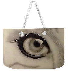 Leopard's Eye Weekender Tote Bag