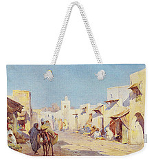 Weekender Tote Bag featuring the photograph Leopold Carl Muller 1887 by Munir Alawi