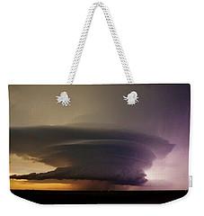 Leoti, Ks Supercell Weekender Tote Bag by Ed Sweeney