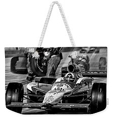 Leqaving Pitts Weekender Tote Bag by Kevin Cable