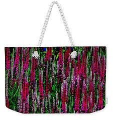 Les Fleurs Weekender Tote Bag by Elfriede Fulda